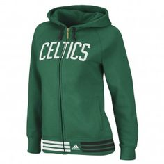 Celtics Womens Nothing But Net Full-Zip Hoodie