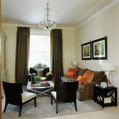Creme Und Braun Wohnzimmer Wohnideen Living Ideas Interiors Decoration