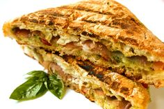 Southwestern Chicken Panini with Chipotle Mayonnaise Recipe