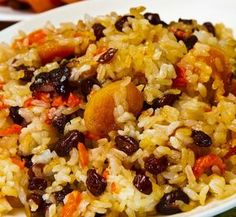 .Blog de Deusa: Arroz de Natal light com chester, frutas secas e g...