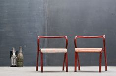 Rustic Industrial Kindergarten Chairs : 20th Century Vintage Industrial : Modern Fifty