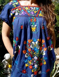 Vintage traditional Mexican dress