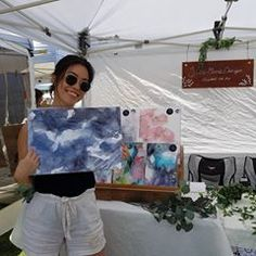 It was a successful and very hot day at the Olive Tree Market yesterday. Thanks to amazing sales skills I sold a few of my favorite originals! Tree Roots Tattoo, Tree Tattoo Arm, Pine Tree Tattoo, Best Christmas Tree Decorations, Ribbon On Christmas Tree, Cool Christmas Trees, Tree Centrepiece Wedding, Family Tree Mural, Pine Tree Painting