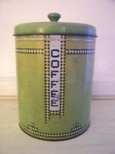 1930's coffee cannister