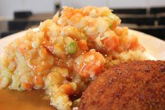 Mijn kookdagboek: Stoemp van zoete groenten met mosterd