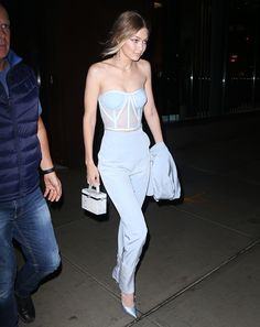 Gigi Hadid spotted at New York City