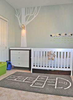 Modern Wall Birdhouse Lamp for Baby Nursery