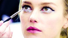 """abigaildonaldson: """" How-to: Makeup at Chanel Haute Couture Spring 2014 """" It took glitter, Chanel lash curlers, hydrating skincare, 11 make-up products and one nail polish to create Chanel's. Beauty Full, Beauty Make Up, Diy Beauty, Fashion Beauty, Chanel Beauty, Glam Makeup, Makeup Tips, Hair Makeup, Makeup Products"""