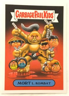 your choice Garbage Pail Kids 30th Anniversary Lost Alternate Art 1-6