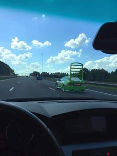 "Friend saw this on the motorway. Someone definitely saw ""cars"" #carmods #modauto #modbargains #showcar #cars #carenthusiast #Automotive"
