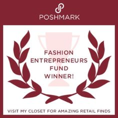 Look Who Won(Me) I'm So Sooo excited to share I'm an official winner of @Poshmarks Entrepreneurs Fund. I can't wait to grow my business and become a major #poshboss! Be sure to follow me for all the retail finds that are sure to come. Thank you Poshmark for this opportunity❤️Happy Poshing PFF Fashion Entrepreneurs Fund Winner Other
