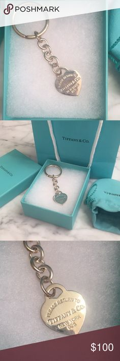 b2d306ba7 40 Best Tiffany Co Keychains images in 2017   Key pendant, Key rings ...