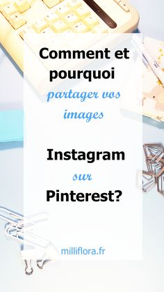 Comment et pourquoi partager vos images Instagram sur Pinterest? Comment augmenter mon nombre d'abonnés sur Instagram grâce à Pinterest? Images Instagram, Instagram Tips, Job A Domicile, Pinterest Marketing, Social Media Tips, Business Marketing, Digital Marketing, Blogging, Storytelling