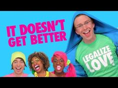 "A video you watch over and over again: ""It Doesn't Get Better"" by Tyler Oakley, Shane Dawson, Miles Jai, Chris Thompson & GloZell Green Lgbt News, Tyler Oakley, Self Acceptance, Shane Dawson, Get Well, Hilarious, Funny, Equality, Feminism"