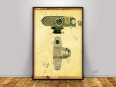 Old cameras, Vintage Printable Art, Fine art print, Home wall decoration, Digital poster, Printable art, Vintage poster, Collection cameras