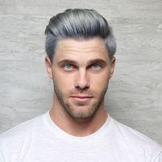 "82 Me gusta, 4 comentarios - Vegas•Joico•Unicorn Hair (@melmelqueenb) en Instagram: ""Men can rock silver hair too!! @cosmoprofbeauty using @joico @joicointensity for this look!. . .…"""