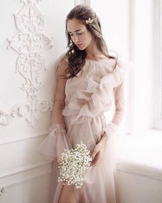 Items similar to Tulle dress on Etsy Perfect Image, Perfect Photo, Love Photos, Cool Pictures, Tulle Dress, One Shoulder Wedding Dress, Flower Girl Dresses, Photo And Video, Wedding Dresses