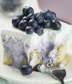 Blueberry Poke Cake - Chocolate Dessert Recipes