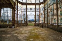 Abandoned Conservatory ........................................................ Please save this pin... ........................................................... Because For Real Estate Investing... Visit Now! http://www.OwnItLand.com