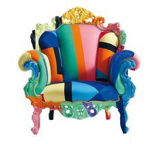 Cappellini Proust Geometrica Armchair designed by Alessandro Mendini, 2009 via endpundit.com #Chair #Cappellini #Proust_Geometrica #Alessandri_Mendini
