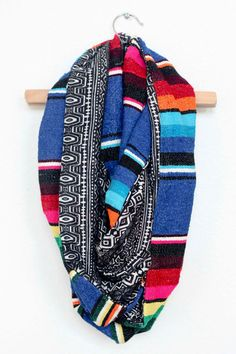Just ordered this and can't wait for it to arrive!! Cobalt Blue Mexican Serape and Black and White by JustDawnelle