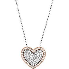 Love the way that this can be worn with the hearts inside one another or side by side :) - two looks for the price of one!