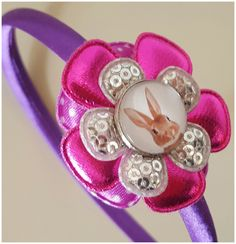 Haarband met foto/naam
