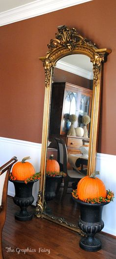 Decorate your home for fall & Halloween