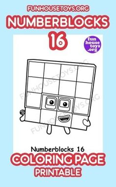 Have some fun with our collection of numberblocks printables. Find Printable Coloring Pages from Numberblocks here. Printable Coloring Pages, Coloring For Kids, Coloring Pages For Kids, Toddler Crafts, Toddler Activities, Crafts For Kids, Fun Printables For Kids, Preschool At Home, Preschool Ideas