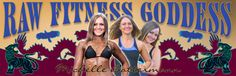 Banner Design for the Raw Fitness Goddess by Julia Stege of Magical-Marketing.com