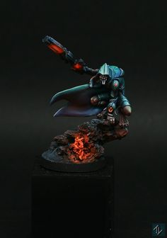 """Shasvastii Noctifers - Infinity the game Painted by: Thomas """"Dr. Flink"""" Laguillon"""