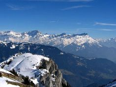 Some of the most beautiful views I have ever seen: Leysin, Switzerland