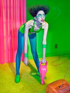Theatrical and Provocative Fashion Photography by Pol Kurucz Dream Photography, Portrait Photography, Fashion Photography, Cool Poses, Club Kids, French Photographers, Retro Futurism, Photoshoot Inspiration, Eccentric
