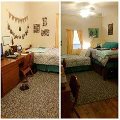 Dorm room at Valdosta State