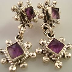 The Vanguard Earring Set - Mexican Silver Store