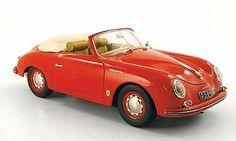 Porsche 356 A Convertible, red , 1955, Model Car, Ready-made, Schuco 1:18: Schuco: Amazon.co.uk: Toys & Games