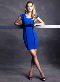 Pin & Win! Blue streak. #TahariASL #dress #macysfallstyle BUY NOW!