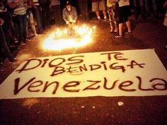 Dios te bendiga Venezuela #PrayForVenezuela #SOSVenezuela
