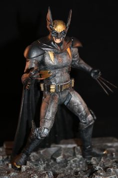 Dawn of Justice Style Dark claw (Crossover) Custom Action Figure