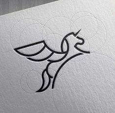 42 Ideas Tattoo Geometric Lines Logos Icon Design, Art Design, Line Design, Design Ideas, Geometric Logo, Geometric Lines, Geometric Designs, Logo Inspiration, Blog Logo