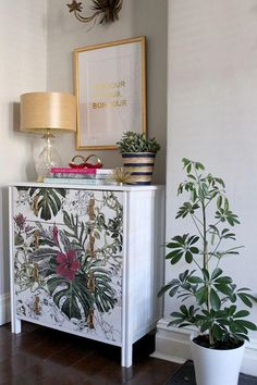 Meuble Relooke Rayures Deco Muebles Muebles Reciclados Et Decoracion De Muebles