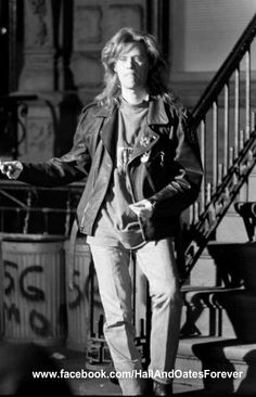 Daryl Hall, photo from 1988 taken during a video shoot. Like this photo? Please join my FB page to see more! www.facebook.com/HallAndOatesForever