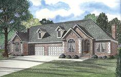 Multi-Family Plan 62380 Elevation