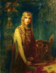 Isolde, 1911 by Gaston Bussière (French, 1862–1928)