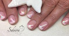 Nägel  Nails  Nageldesign Schöne Nägel Shortnails  Rosa  French  Glitzer  Beauty  Salsera Nails & Lashes  Frankfurt am Main