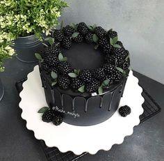 Drip Cakes, No Bake Cake, Mousse, Sushi, Birthday Cake, Ice Cream, Yummy Food, Fruit, Desserts