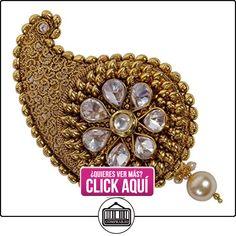 Gorgeous Fashion Cabello, sintética Pearl tono de oro indio tradicional Bollywood Joyería Para Las Mujeres  ✿ Joyas para niñas - Regalos ✿ ▬► Ver oferta: https://comprar.io/goto/B018TR0ZY6