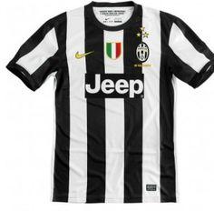 Juventus Jersey 12-13 Home Soccer Jersey