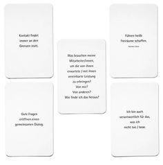 Sinn-ier Karten für Trainer, Führungskräfte und Privatpersonen: Karten-Ansichten