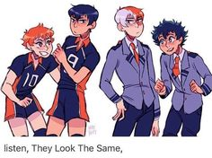 IDK what Haikyuu is but sure?